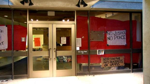 Protesting UC Santa Cruz Students Take Over Campus Building