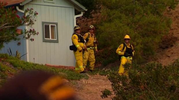 [G] Highway Fire in Bonsall, Fallbrook Threatens Homes