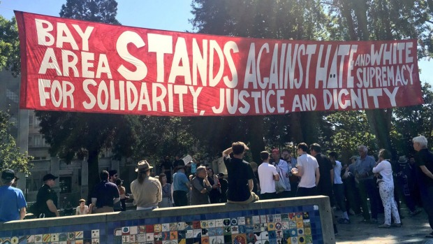 Tensions Boil as Demonstrators Flock to Berkeley