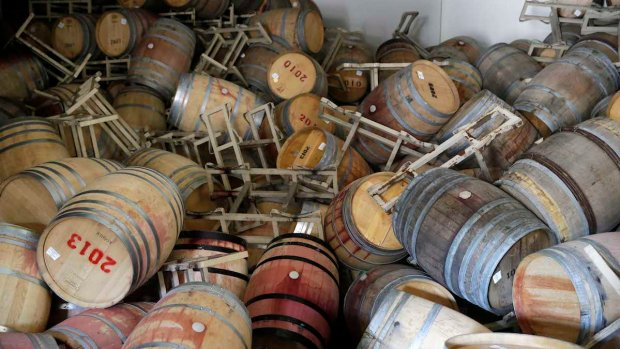 [BAY] $50M in Quake Damages to Napa's Wine Industry: Napa Valley Vintners