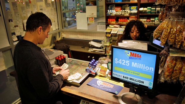 [AP] Mega Millions Hits Second Highest Jackpot Ever