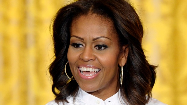[BAY] First Lady Michelle Obama Vists San Francisco