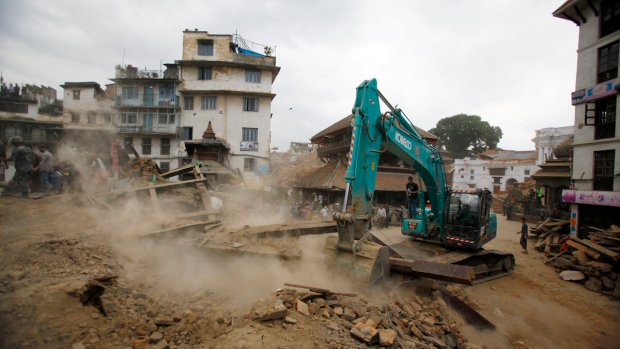 Team Coverage: At Least 1,400 Dead in 7.8 Magnitude Nepal Quake