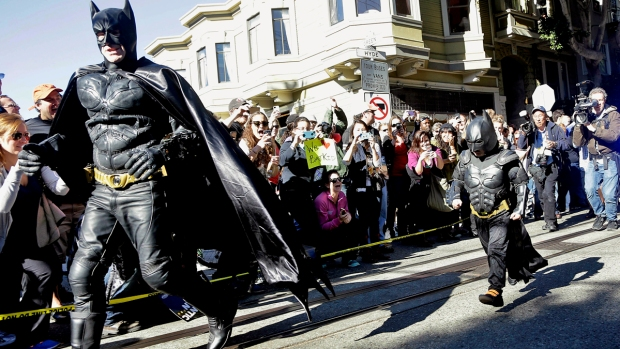 Thousands Cheer On Batkid as Superhero Saves San Francisco