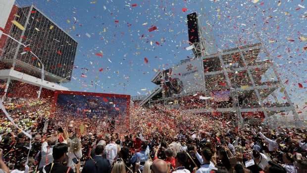 Levi's Stadium Ribbon Cutting