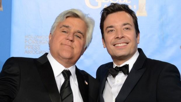 Fallon, Leno Take on the Golden Globes