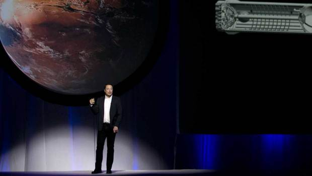 [NATL-BAY] Elon Musk Outlines Plans to Go to Mars