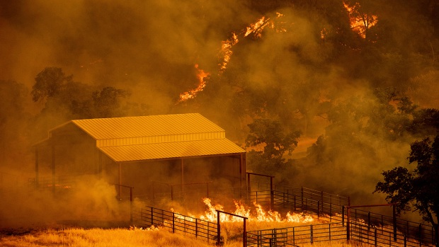 [BAY] County Fire Scorches 44,500 Acres