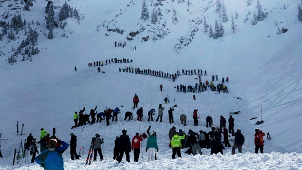 [NATL] Top News Photos: Avalanche Kills Skier, Hurts Another at New Mexico Ski Resort