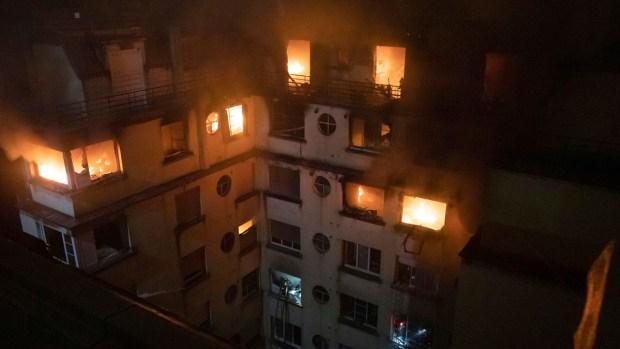 [NATL] Paris Apartment Blaze Kills 10