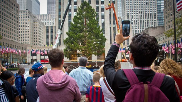 [NATL-NY] Your Photos: Rockefeller Tree Through the Years