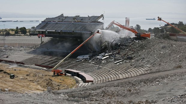 [NATL-BAY] Candlestick Park Demolition