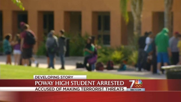 [DGO] Poway HS Student Accused of Making Threats