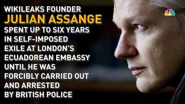 A Timeline of WikiLeaks' Julian Assange's Time in Self-Exile