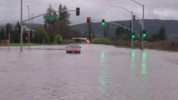 Atmospheric River Pounds Bay Area With Widespread Rain