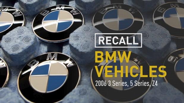 [NATL] BMW Recalling Another 185,000 Vehicles