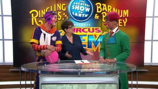 Watch Ringling Bros. hold its final show today
