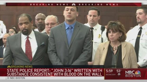 Police Release Report on Death of Aaron Hernandez