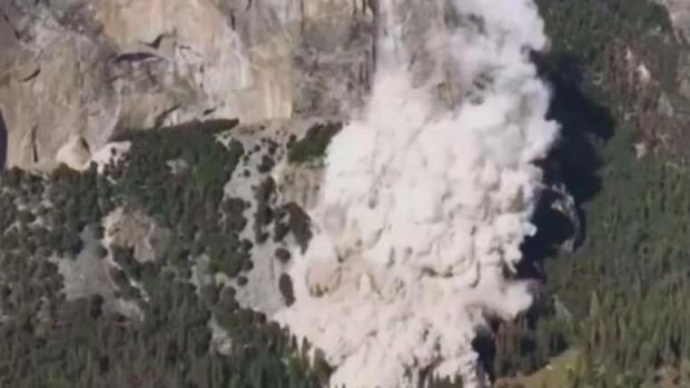 [BAY] Bay Area Climbers React to Rock Slides in Yosemite