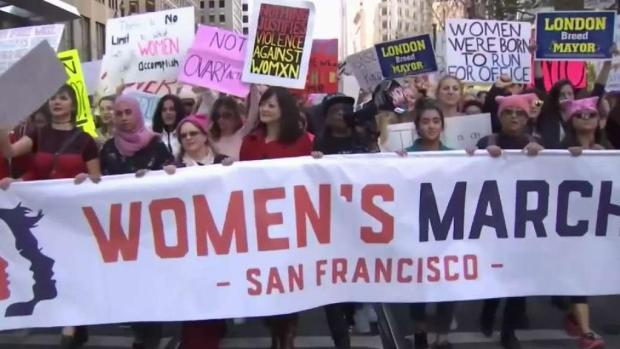 [BAY] Bay Area Preps for Annual Women's March