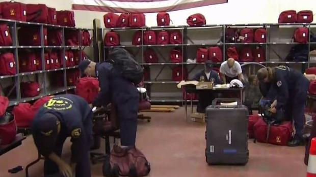 Bay Area Task Force Returns From Texas Only to Be Redeployed Due to Irma