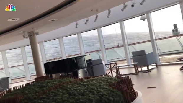 Woman Takes Terrifying Video on Disabled Cruise Ship