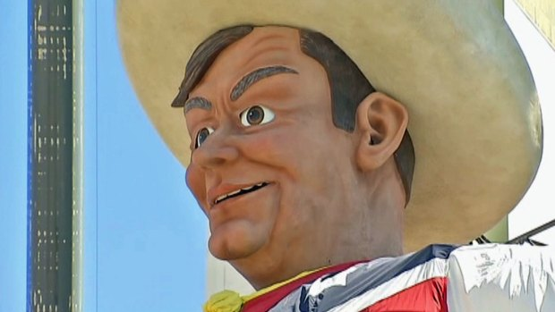 Big Tex Through the Years