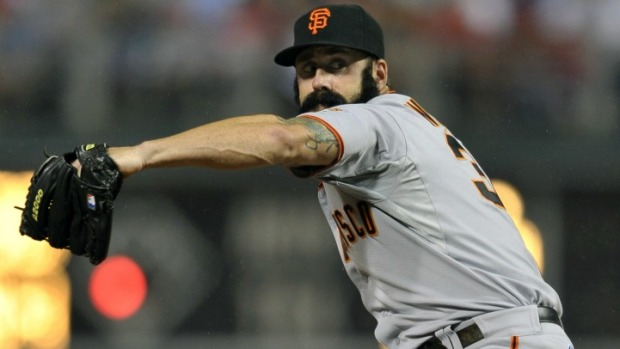 Brian Wilson Dealing With Elbow Inflammation