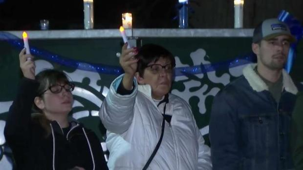 [BAY] Candlelight Vigil Held for Fallen Officer Natalie Corona