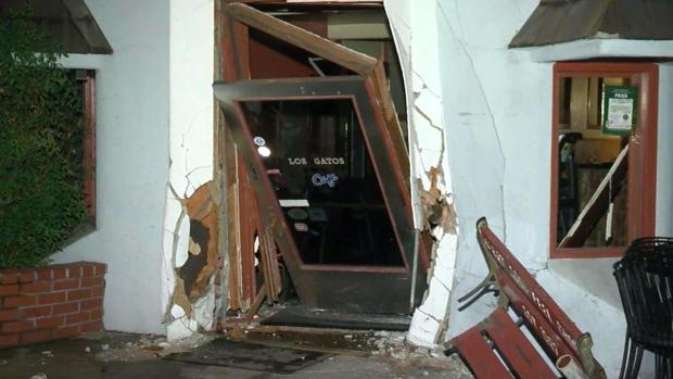 [BAY] Car Smashes Into Los Gatos Cafe's Downtown Location
