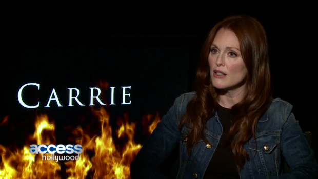 "[NBCAH] Julianne Moore Discusses ""Carrie"" Remake"