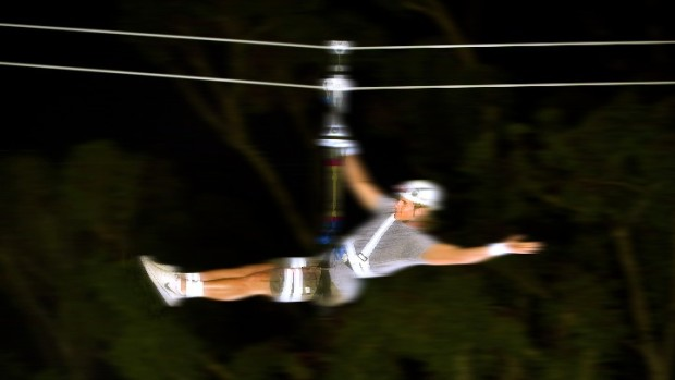 The Nighttime Zip Line