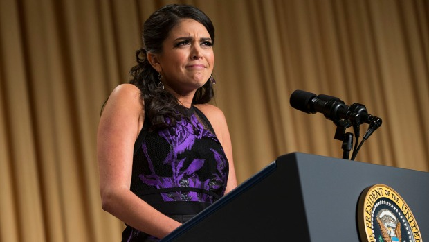 [NATL] WATCH: Cecily Strong's Best Jokes From Correspondents' Dinner