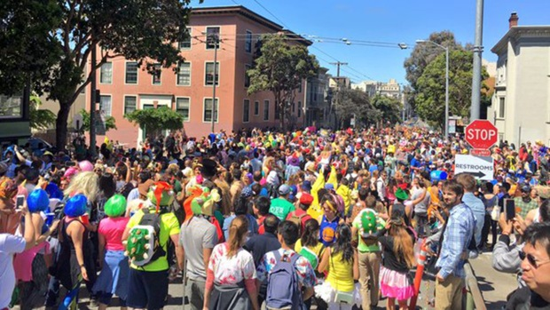 Bay to Breakers Revelry