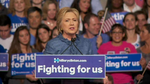 Clinton Celebrates Wins, Calls for 'Common Ground'