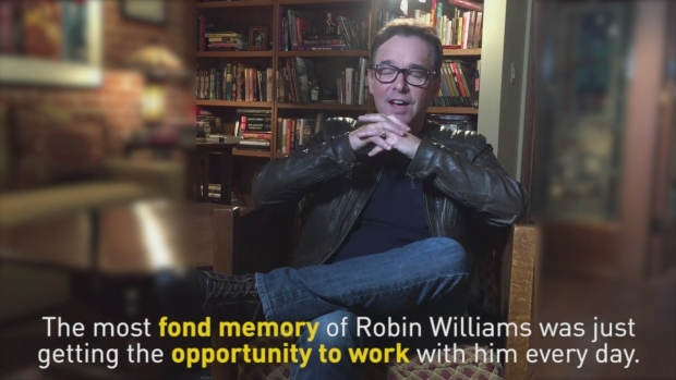 Chris Columbus on Robin Williams