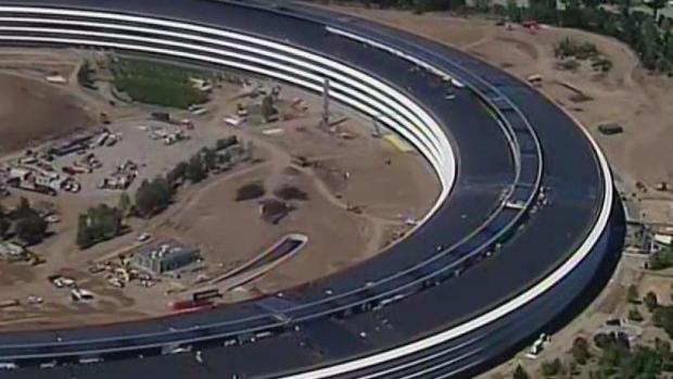 [BAY ML 6A VO ONLY] Apple's 'Spaceship' Campus Draws Complaints From Neighbors