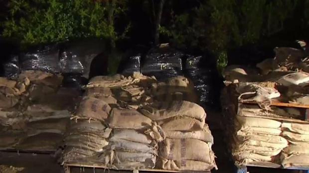 Crews Distribute Free Sandbags as Storm Hits Bay Area