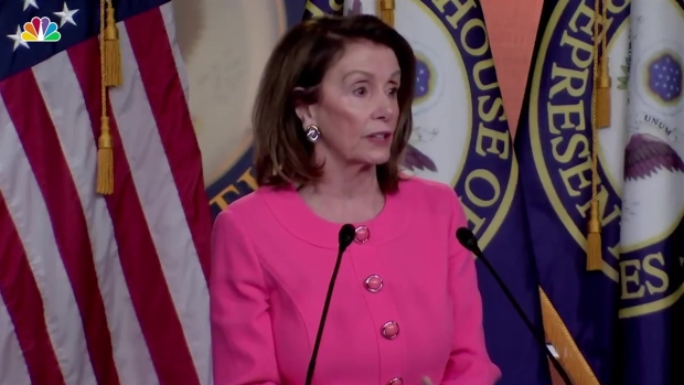 [NATL] Pelosi: Attorney General Barr Lied to Congress, a 'Crime'