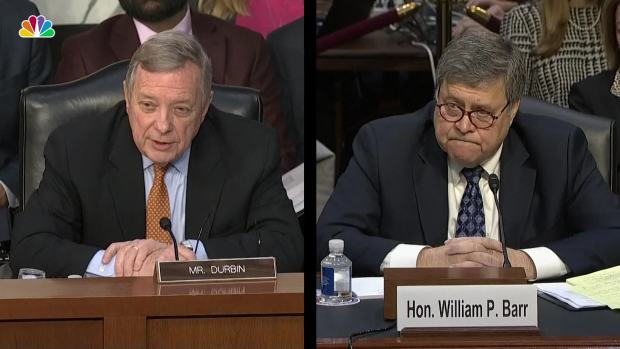 [NATL] Barr: 'I Will Not Be Bullied Into Anything'