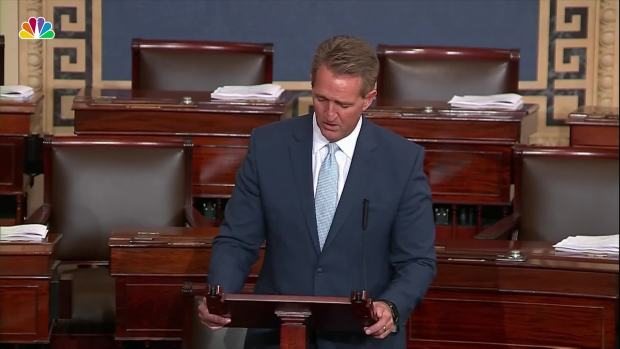 Flake on Kavanaugh: 'We Haven't Learned Much' Since Anita Hill