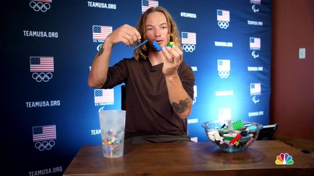 David Wise Explains Halfpipe Skiing With Legos
