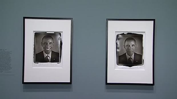[NATL] Obama Photographs on Display at National Portrait Gallery