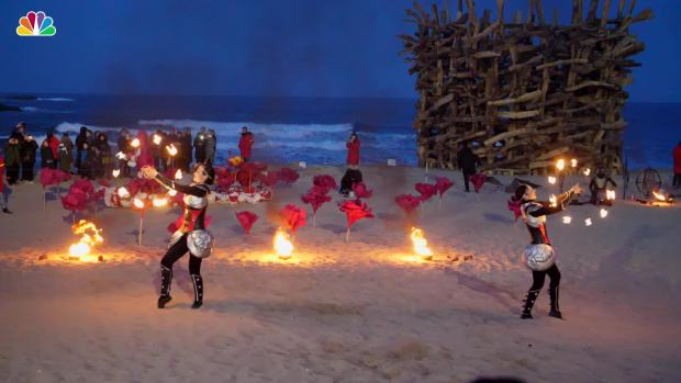 [NATL] Incredible Slow Motion of Fire Fest in Pyeongchang