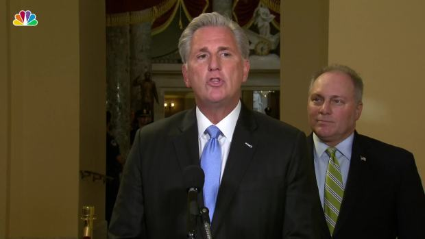 [NATL] GOP's McCarthy Responds to Pelosi's Call for Impeachment Inquiry