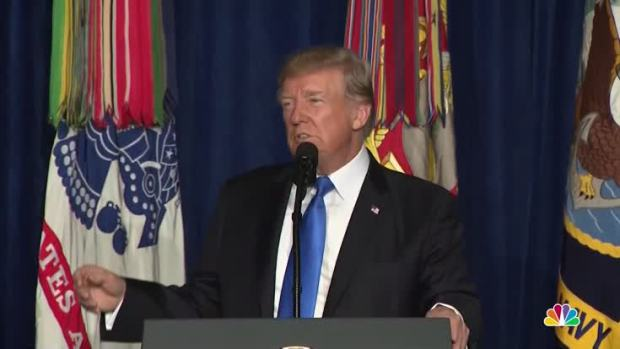 [NATL] President Trump Lays Out US Plans for Afghanistan