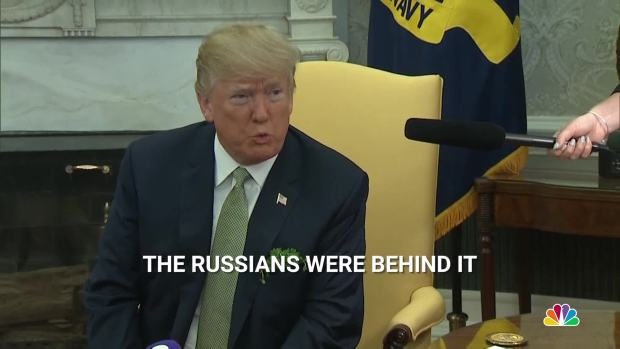 [NATL] Trump: 'It Looks Like' Russians Carried Out Nerve Agent Poisoning