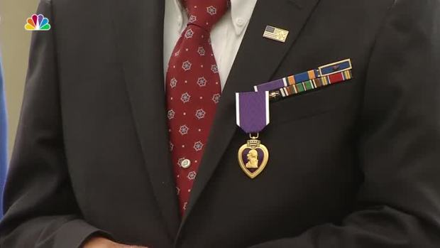 [NATL] Purple Heart Ceremony 7 Decades in the Making