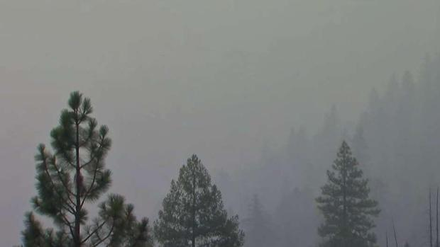 [BAY] Disappointed Visitors Leave Yosemite as Fire Rages Nearby