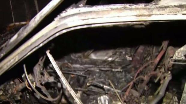 [BAY ML 5A BOONE] Dozen Cars Burn in Campbell Carport